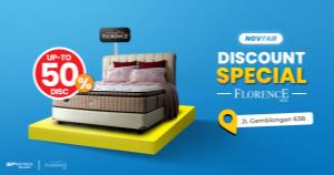 NovFair, Promo Spring Bed Florence SP Mattress Specialist