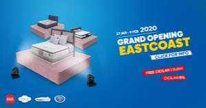 Pameran Spring Bed Comforta dan Therapedic East Coast Surabaya