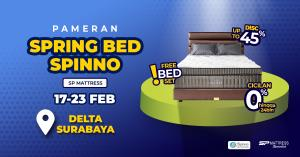 Pameran Spring Bed Spinno SP Mattress