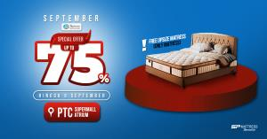 Spinno Mattress September Promo