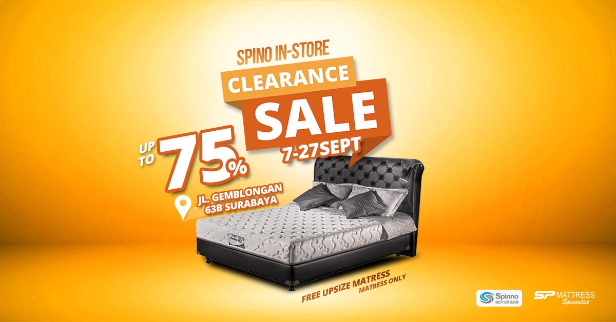 SP Mattress In Store Clearance Sale