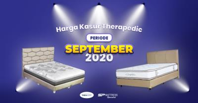 Harga Kasur Therapedic Periode September 2020 di SP Mattress
