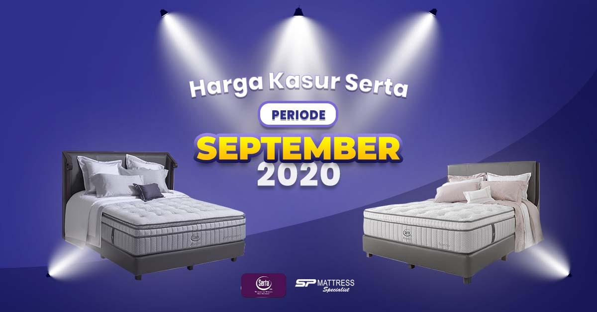 Harga Matras Serta Periode September 2020 di SP Mattress