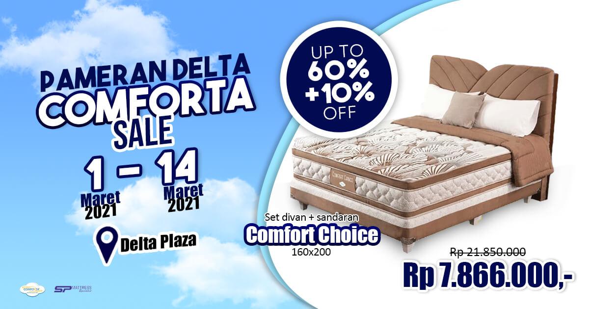 Pameran Delta Comforta Sale Surabaya