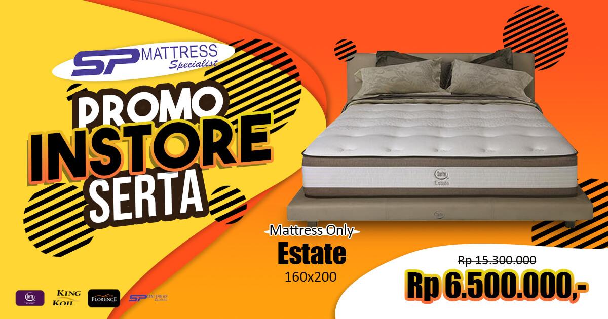 Promo in Store Matras Serta Estate