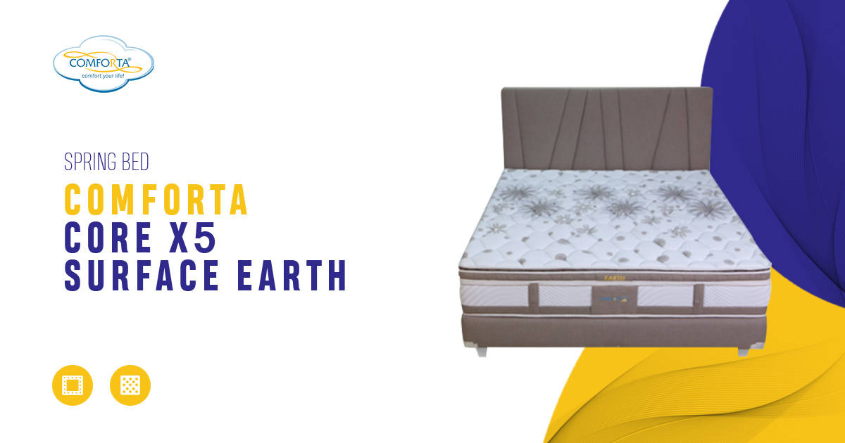 Comforta Core X5 Surface Earth