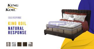 king koil natural response 07025344774